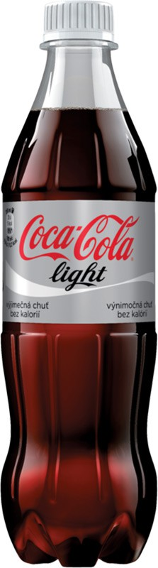 COCA COLA 0,5 l light