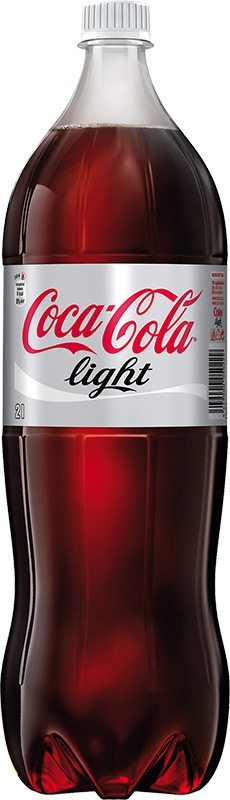 COCA COLA 2l light