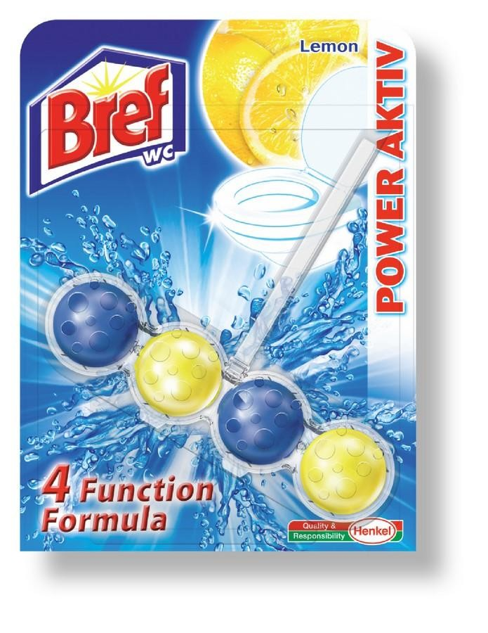 Bref WC Power Aktiv Lemon 50g, kuličky