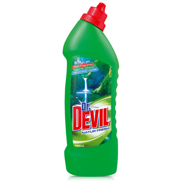 Dr .Devil WC čistič 750 ml