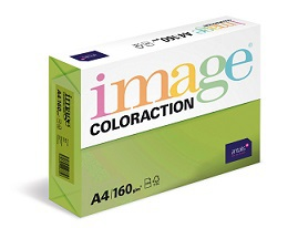 Papír Coloraction A4 160g/250ks zelená